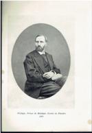 Photo Sur Papier Glacé:    PHILIPPE, PRINCE DE BELGIQUE, COMTE DE FLANDRE.  1879. - Photographie
