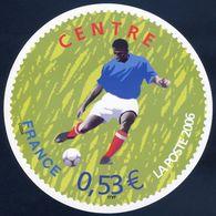 """FRANCE  Carte Cadeau De La Poste  2006     FOOT    COUPE DU MONDE  DE LA FIFA  2006  """" CENTRE """" - Other"""