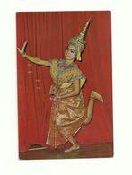 LAKORN. A Posture Of Lakorn. Thaï Theatrical Play. CPSM 1971.  Voir Description - Teatro