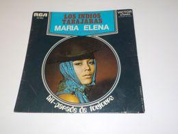 45 TOURS  LOS INDIOS TABAJARAS MARIA ELENA 1962 - Vinyl-Schallplatten