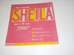 45 TOURS SHEILA SHEILA 1962 - Other - French Music