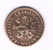10 HALLER  1923  TSJECHOSLOWAKIJE /6176/ - Tchécoslovaquie