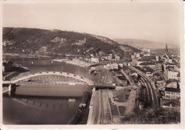 269697Aussig An Der Elbe, Mit Neuer Elbebrucke (Falten Im Ecken) - Sudeten