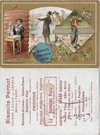 CHROMOS. Biscuit PERNOT (Dijon)  Vocation, Rêve, Réalité...S2872 - Pernot