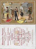CHROMOS. Biscuit PERNOT (Dijon)  Vocation, Bourse, Réalité...S2873 - Ohne Zuordnung
