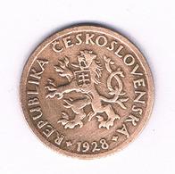 10 HALLER  1928  TSJECHOSLOWAKIJE /6179/ - Tchécoslovaquie