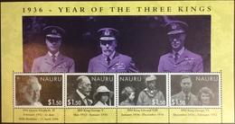 Nauru 2006 Year Of The Three Kings Anniversary Sheetlet MNH - Nauru