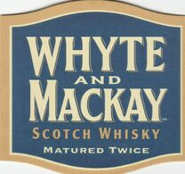 BEERMAT - WHYTE AND MACKAY WHISKY (GRANGEMOUTH, SCOTLAND) - SCOTCH WHISKY - (No Cat Number) - Bierviltjes