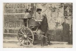 DF / 75 PARIS / PETITS MÉTIERS À PARIS / LE REMOULEUR / CARTE DOCUMENTAIRE - Petits Métiers à Paris