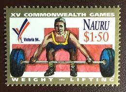 Nauru 1994 Commonwealth Games MNH - Nauru