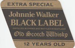 BEERMAT - JOHNNIE WALKER WHISKY (LONDON, ENGLAND) - OLD SCOTCH WHISKY - (Cat No 005) - Bierviltjes