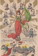 Portugal -Proclamação Da Republica  Portugueza - Lisboa