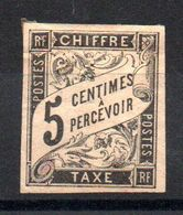 YT Taxe N° 5 - Neuf * - MH - Portomarken