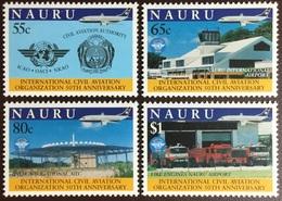 Nauru 1994 ICAO Anniversary Aviation Aircraft MNH - Nauru