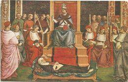 XW 3686 Siena - Libreria Del Duomo - Pinturicchio - Enea Piccolonimi Canonizza Santa Caterina - Dipinto Paint Peinture - Pittura & Quadri