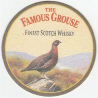 BEERMAT - FAMOUS GROUSE WHISKY (CRIEFF, SCOTLAND) - FINEST SCOTCH WHISKY - (Cat No 034) - Bierviltjes