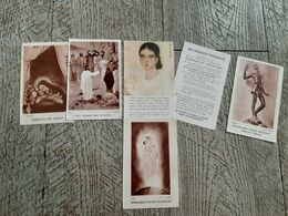 6 Images Religieuses Inde  Ouganda Prière Pour Les Missions   Religion - Images Religieuses