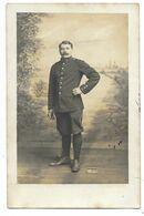 MÜNSTER-CARTE PHOTO Portrait Militaire Du 83e Régiment D'Infanterie, Prisonnier De Guerre...1917 - Regimente