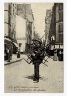 DF / 75 PARIS / PETITS MÉTIERS À PARIS / LE REMPAILLEUR DE CHAISES / CARTE DOCUMENTAIRE - Petits Métiers à Paris