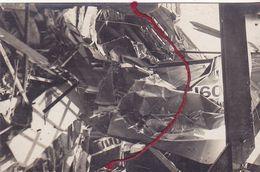 ( 59 ) - Ellincourt Elincourt Zerstörtes Englische  Flugzeug Avion Anglais Détruit  Carte Photo Allemande KLASSE ! - Frankreich