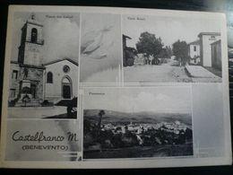 Castefranco Miscano - Benevento Vedutine Anni 50 - Italy