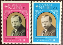 Nauru 1974 Christmas MNH - Nauru