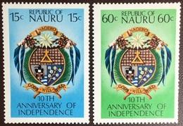 Nauru 1978 Independence Anniversary MNH - Nauru