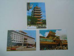D172838 VIET NAM  Vietnam  SAIGON  HO CHI MINH CITY    Lot Of 3 Postcards - Ohne Zuordnung