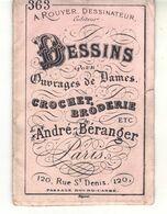 Petit Album Dessins Pour Ouvrages De Dames A. Rouyer Dessinateur éditeur  -Maison André Béranger Paris  N° 363 - Creative Hobbies