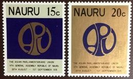 Nauru 1978 General Assembly Of Parliamentary Union MNH - Nauru