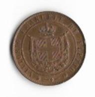 Pièce De 5 Centesimi   - Toscane 1859 - Regional Coins