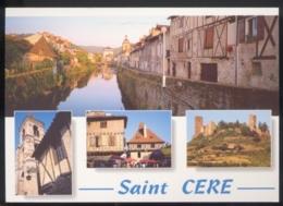 CPM 46 SAINT CERE Multi Vues - Saint-Céré