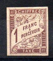 YT Taxe N° 15 - Neuf * - MH - Postage Due