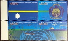Nauru 1995 United Nations Anniversary MNH - Nauru