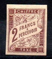 YT Taxe N° 16 - Neuf * - MH - Portomarken