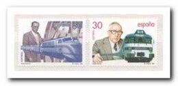 Spanje 1995, Postfris MNH, Trains - 1931-Aujourd'hui: II. République - ....Juan Carlos I
