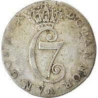 Monnaie, Danemark, Christian VII, 8 Skilling, 1783, Copenhagen, TTB, Argent - Dänemark