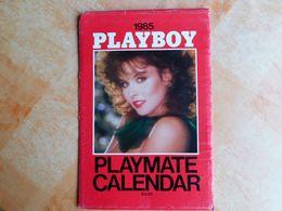 Calendrier Playboy, Playmate Calendar, 1985, Avec Pochette, Signature Des Modèles, 20,5x32 Cm    (Box5) - Erotiques (…-1960)