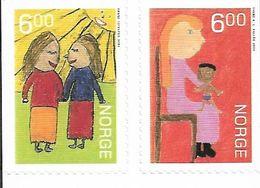 2004 Norwegen Mi. 1516-17 **MNH   Weihnachten - Norwegen