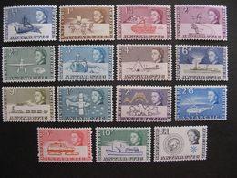 Territoire Antarctique Britannique: TB Série N° 1 Au N° 15, Neufs XX. - Britisches Antarktis-Territorium  (BAT)