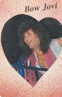 Portugal -  2  Calendários   -1988  -Bow Jovi + Mandy Smith - Small : 1981-90