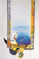 """Secours Pop. Franç. Solidarité Avec Sinistrés En Algérie 2003 """"Fenêtre Sur La Baie D'Alger,Djamal Sidi Boumédine TBE - Missie"""