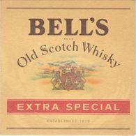 BEERMAT - BELLS WHISKY (PITLOCHRY, SCOTLAND) - EXTRA SPECIAL - (Cat No 072) - Bierviltjes