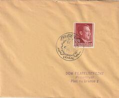 "D.Bes.39/45-Generalgouvernement / Brief EF SSt. Krakau ""Mozart"" (CI54) - Ocupación 1938 – 45"