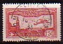 FRANCE - 1930 - Avion Survolant Marseille - 1.50Fr (O) Yv PA 5 - 1927-1959 Gebraucht