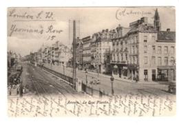 ANTWERPEN - Plantijn Kaai - Quai Plantin - 1904 - Café Van Dyck - Belgique