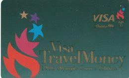 ESTADOS UNIDOS. TARJETA BANCO. Visa Travel Money - Atlanta 1996. US-VI-0034. (100) - Cartes De Crédit (expiration Min. 10 Ans)