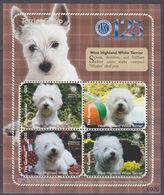 2009Gambia6124-6127KLDogs7,50 € - Timbres