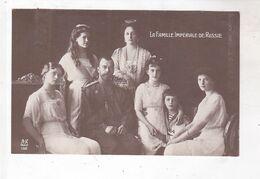 CPA LA FAMILLE IMPERIALE DE RUSSIE - Historical Famous People