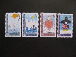 Territoire Antarctique Britannique: TB Série N° 411 Au N° 414, Neufs XX. - Britisches Antarktis-Territorium  (BAT)